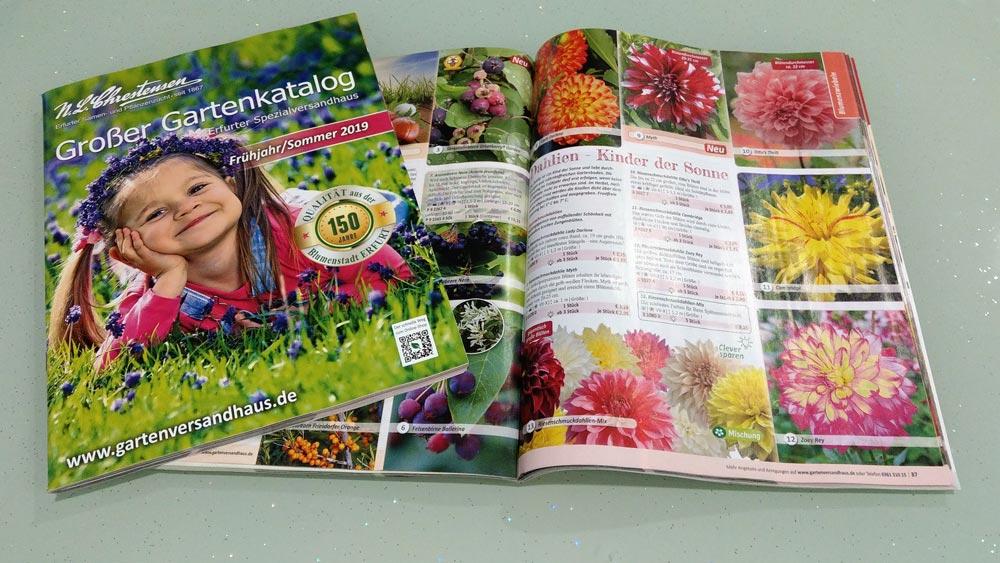 Gartenkatalog Online Shop Nlchrestensen
